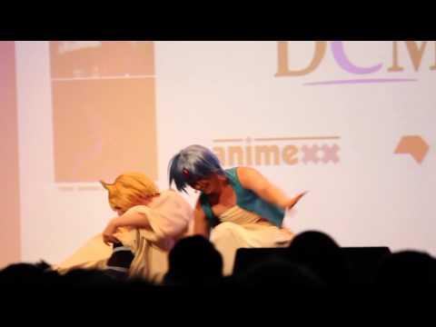 Akibaba Saluja und Aladin / Magi The Labyrinth of Magic DCM Vorentscheid CosDay 2014