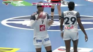 Netherlands VS France Women's World Championship Denmark 2015 1/4 Final