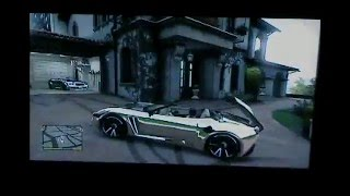 Gta V Convertible Tuneado Plateado By Ferchito®