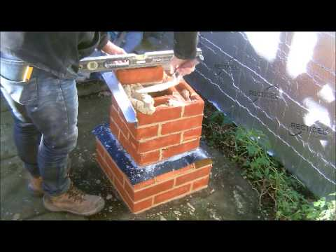 The Fine Art Of Brickwork Twisted Pier 1 2 YouTube