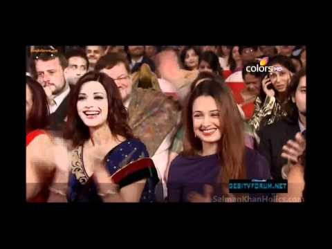 Salman Khans performance at Colors Screen Awards!! **HD Video...