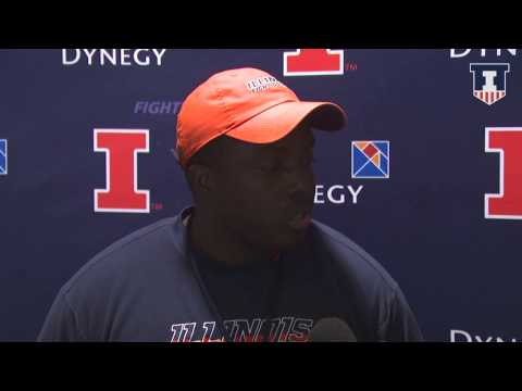 @IlliniFootball Co-Defensive Coordinator Tim Banks Interview 9/29/15