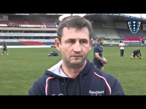 Rebels coach Hill previews Highlanders clash - Rebels coach Hill previews Highlanders clash
