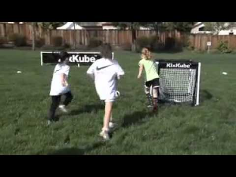 Kixkube Soccer Net - Upgrade Your Training