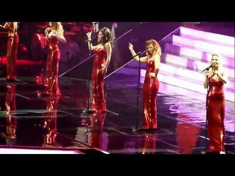 Girls Aloud The Promise 10 Tour finale Live at the O2 Arena London 03 March 2013 HD Ten tour