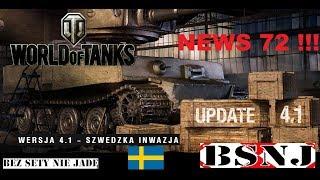 WoT Xbox . Wersja 4.1 – szwedzka inwazja ! News 72 !!!