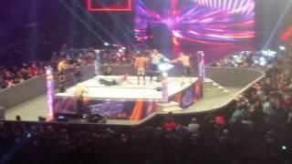 Miz and aj styles vs dean ambrose and John Cena