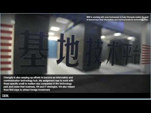 IBM's Corporate Service Corps in Sichuan Province, China