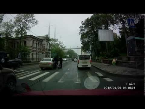 Бегущий пешеход
