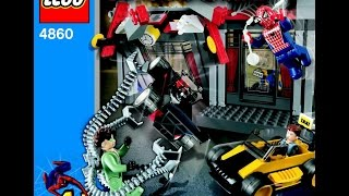 4860 LEGO Spiderman - Cafe attack (Instruction Booklet)