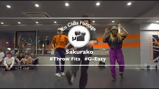 "Sakurako"" Throw Fits / G-Eazy ""@En Dance Studio SHIBUYA SCRAMBLE"