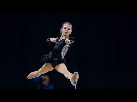 Alexandra TRUSOVA SP Junior World Championships 2018