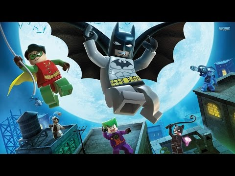 LEGO Batman All Cutscenes (Game Movie) 1080p HD
