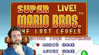 Super Mario Bros. THE LOST LEVELS Longplay | All Worlds