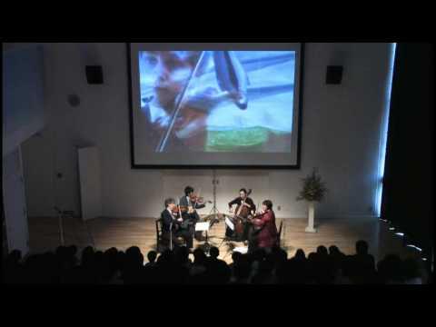 Beethoven Op. 135 Vivace Borromeo Quartet Childsplay Residency