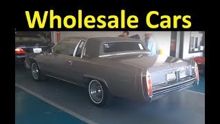 AUTO DEALER CAR AUCTION ~ BUYING WHOLESALE USED CARS VIDEO