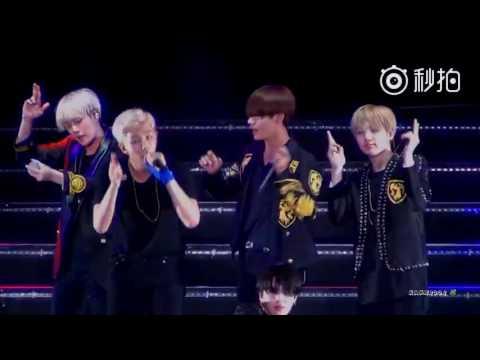 [FANCAM] [160702] BTS concert in Nanjing - Baepsae (Taehyung focus)
