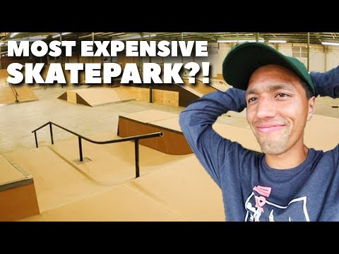 HOW MUCH WILL MY NEW SKATEPARK COST?!