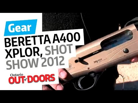 Beretta A400 Xplor Action -- SHOT Show 2012