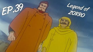 THE BATTLE IN THE STORM - The Legend of Zorro, ep. 39 - EN