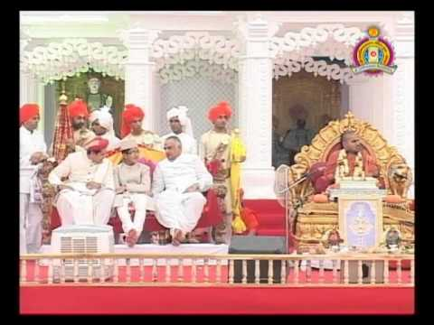Bhuj Nutan Mandir Mahotsav 2010 - Udhbodhan Evam Aashirvad