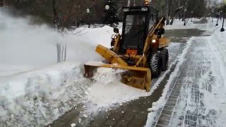 snow remover tractor