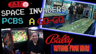 #1379 Bally SPACE INVADERS PCB Boards,  REVENGE FROM MARS & SPEAK EASY Pinball! TNT Amusements