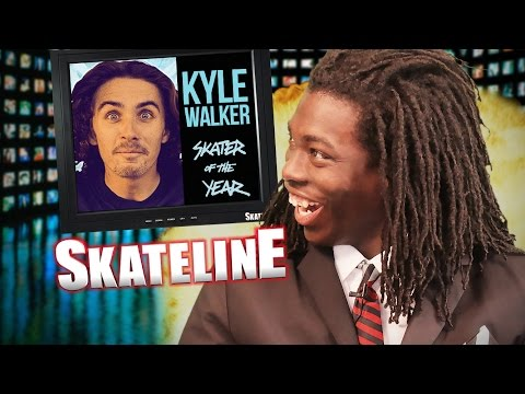 SKATELINE - Kyle Walker SOTY, Shane ONeill, Numbers, Koston, Guy, Frankie Decker & more
