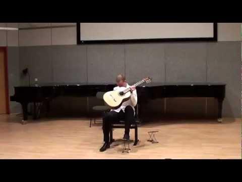 Jaka Klun plays Francois de Fossa: Fantaisie op. 5