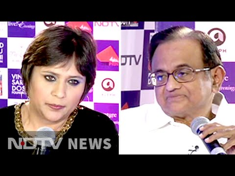 Role reversal: P Chidambaram in interviewer's role