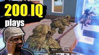 ME VS 4 SQUADS | 200 IQ ENDING | PUBG Mobile