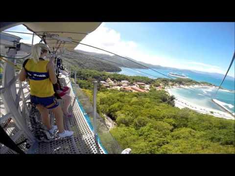 Zip Line 11-8-15 in Labadee Haiti