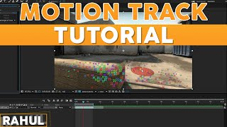 EASY MOTION TRACK TUTORIAL (AFTER EFFECTS)
