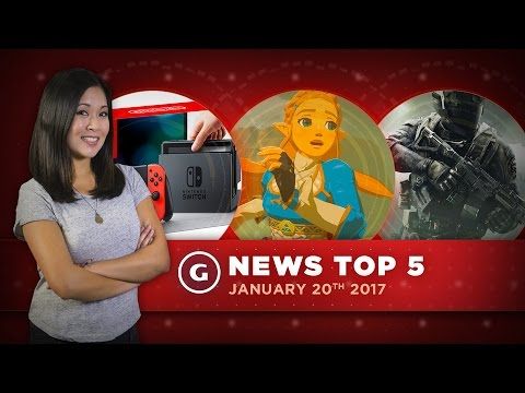2016's Best-Selling Games, No Netflix On Switch At Launch - GS Daily News