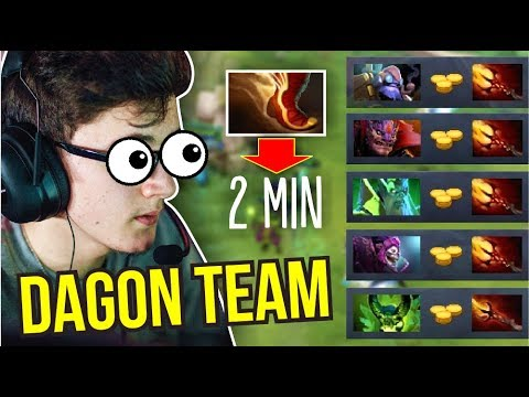 5 DAGON ARMY - Miracle Tinker 2 Minutes Boot of Travel 7.07 Turbo Mode | Dota 2