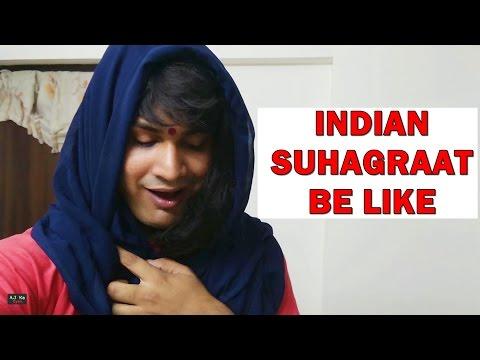 Indian Suhagraat Be Like | Aj Ka Gyan | Funk You thumbnail