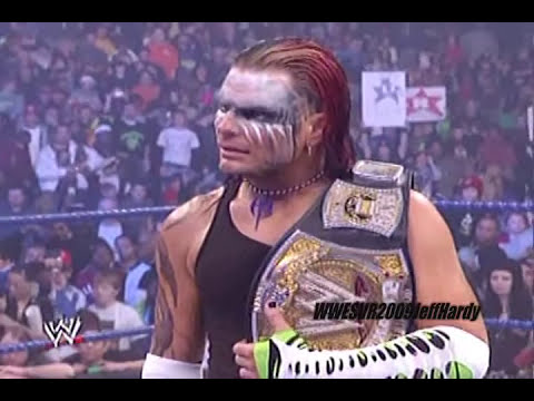 The New WWE Champion Jeff Hardy 12/19/08 pt1