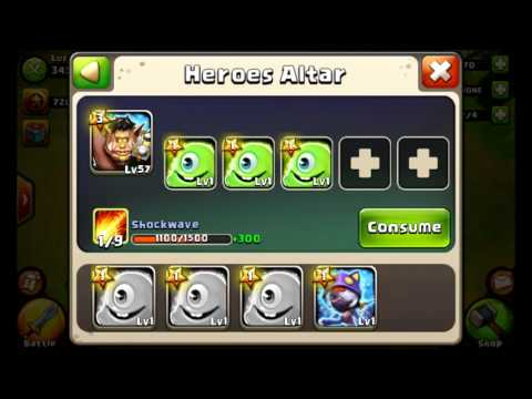 Castle Clash - How to Hire and Train Heroes!
