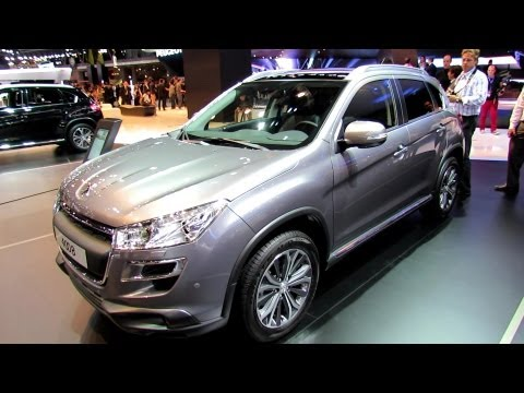 2013 Peugeot 4008 - Exterior and Interior Walkaround - 2012 Paris Auto Show