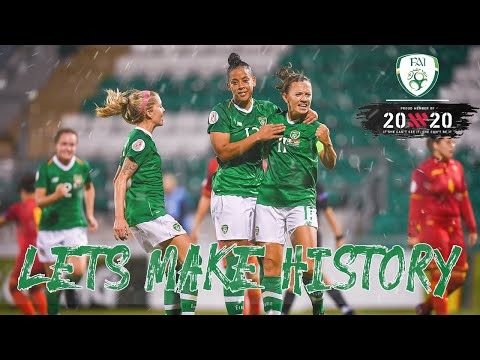 Let's Make History for #IRLWNT at Tallaght Stadium on 8 October