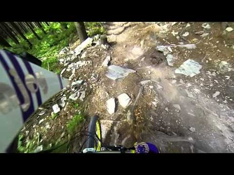 YT Capra PRO CF on DH track of Semmering Bikepark. It feels like Mini DH Bike yeah!