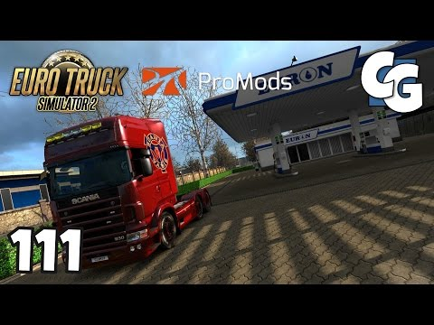 Euro Truck Simulator 2 - Ep. 111 - ProMods Trailer & Company Pack 1.12 - ETS2 ProMods 2.15 Gameplay