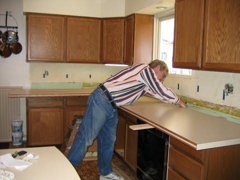DIY Kitchen Countertop Remodel