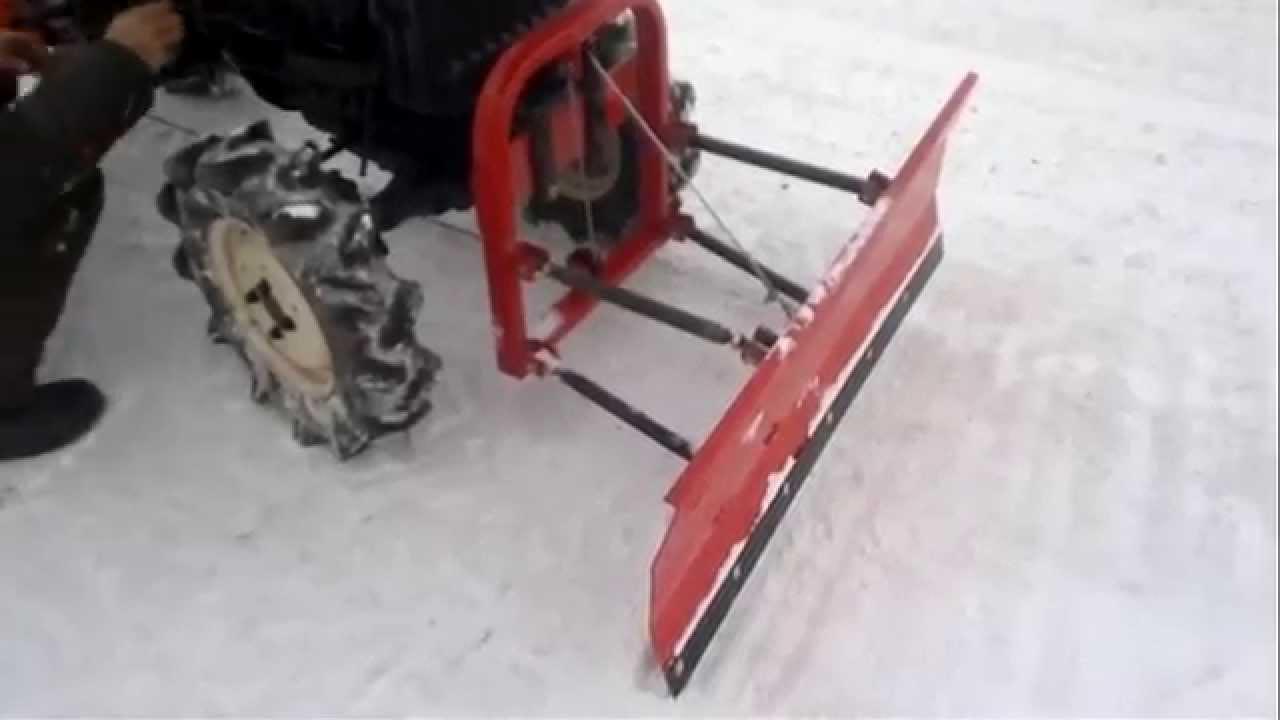 Отвалы для самодельных тракторов