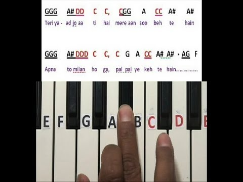 Airtel tune on keyboard for learning