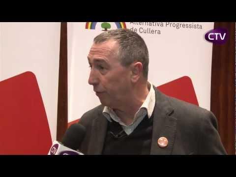 JOAN BALDOVI DIPUTAT DE COMPROMÍS A LES CORTS PARLA A CULLERA TV.