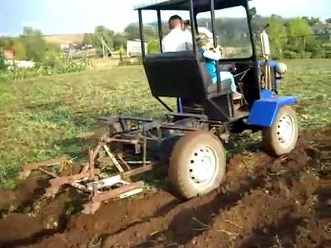 Найти самодельный трактор