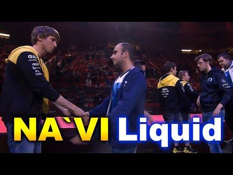 NAVI vs Liquid - Dendi vs KuroKy - Elimination Match - TI6 Dota 2