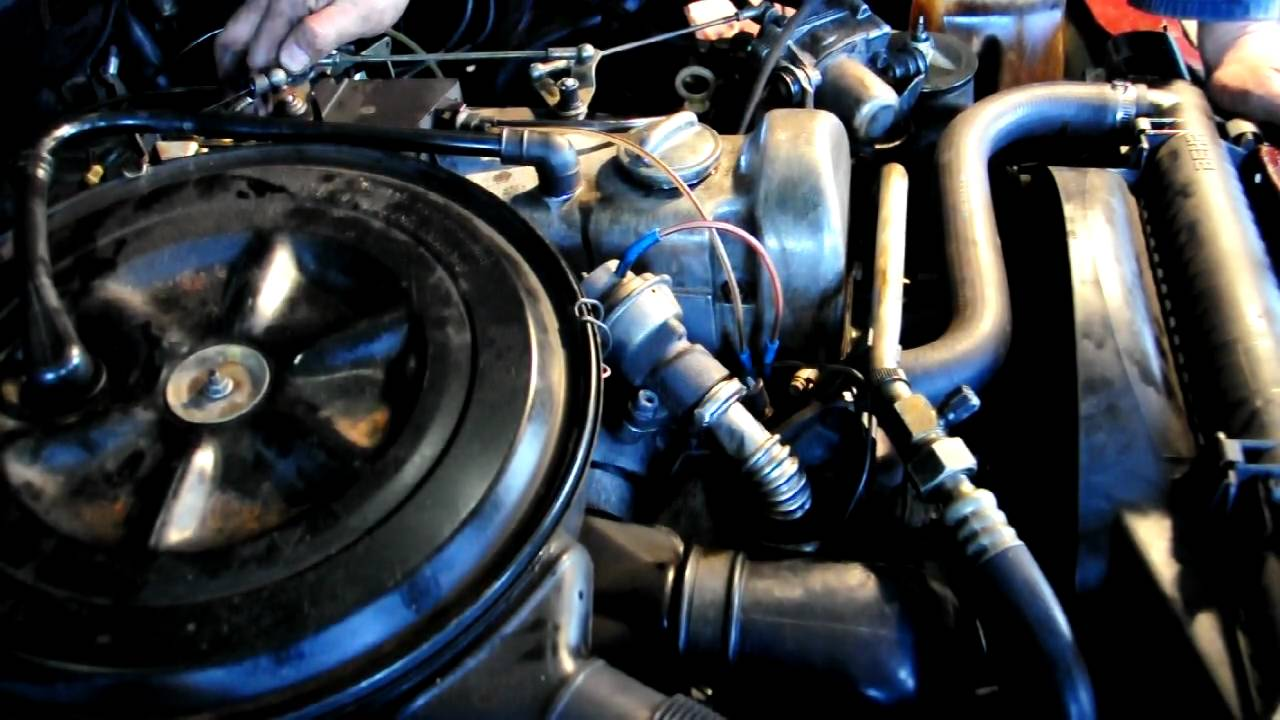 ticking sound on a 1982 mercedes benz 300 d turbo youtube