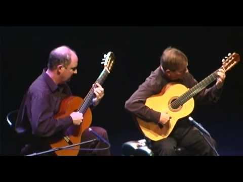Juan Serrano and Bart Sullivan in concert at the Napa Opera House April 30, 2005.